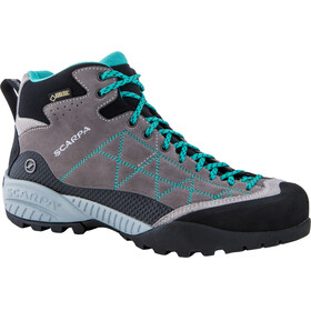 Scarpa W's Zen Pro Mid GTX Shoes midgray-lagoon